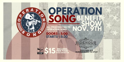 Operation Song Benefit Show