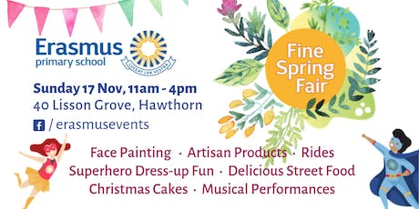 Erasmus Primary School Spring Fair tickets