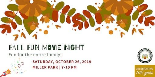 Fall Fun/Movie Night - Avondale 100th Celebration