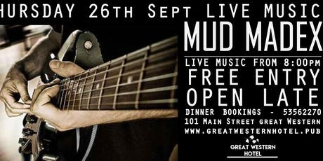 MUD MADEX - Live AFL Grand Final Long weekend tickets