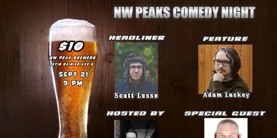 NW Peaks Comedy Night