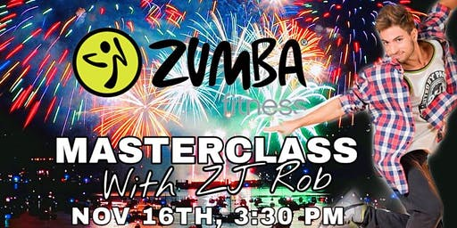 Zumba® Fitness Masterclass with ZJ Rob