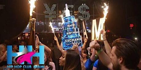 Miami Hip Hop Party | Club Exchange Miami | All-Inclusive Nightclub Service  tickets