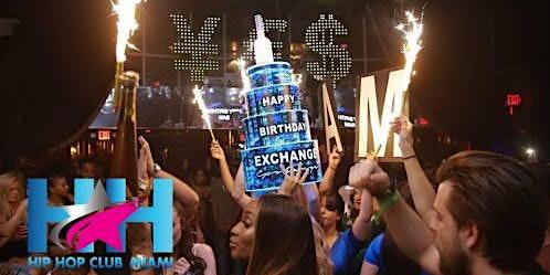 Miami Hip Hop Party | Club Exchange Miami | All-Inclusive Nightclub Service