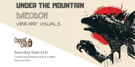 Under The Mountain, Daeodon, Shed Monkeys tickets
