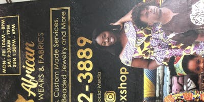 Veroex African Wears And Fabrics Ground opening event