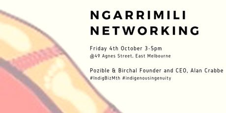Ngarrimili Networking  with Pozible and Birchal tickets