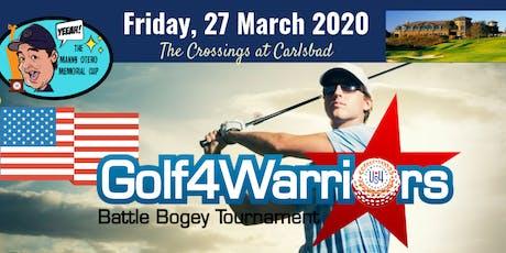 Golf4Warriors Battle Bogey Tournament 2020 tickets