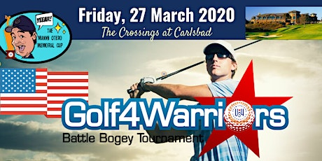 Golf4Warriors Battle Bogey Tournament 2020 - Postponed to August 28th tickets