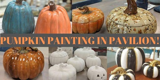 Pumpkin Painting IN Pavilion!