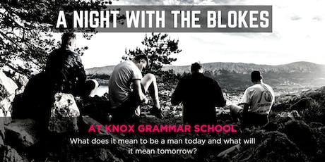 Tomorrow Man - A Night With The Blokes at Knox Grammar School tickets