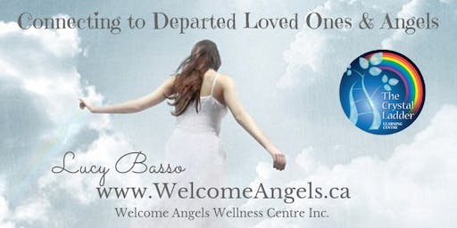 Connecting to Departed Loved Ones & Angels (Charity Event)