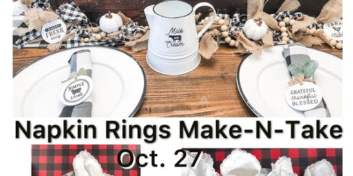 Napkin Rings Make-N-Take