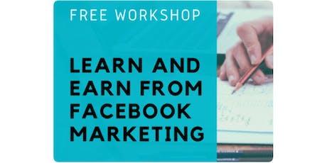 [*Get paid doing Marketing part-time - Facebook Marketing Workshop*] tickets