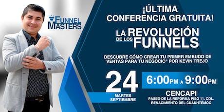 Ultima Evento: La revolución de los Funnels boletos