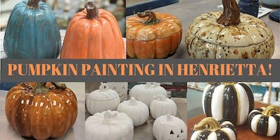 Pumpkin Painting IN HENRIETTA!