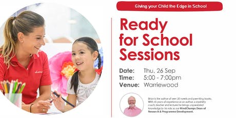 Ready for School Sessions - Warriewood MindChamps tickets