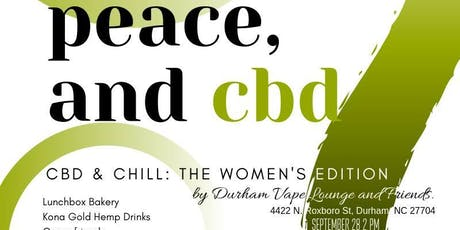 Love, Peace & CBD: An Afternoon of CBD & Chill! tickets