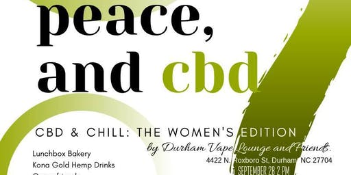 Love, Peace & CBD: An Afternoon of CBD & Chill!