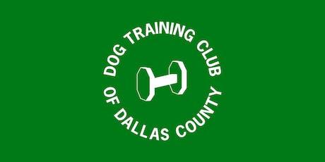 Puppy Class - Dog Training 6-Mondays at 8:15pm beginning Oct 14th tickets
