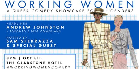 Working Women Comedy - October 2019 Edition tickets