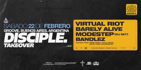 HYPE presents VIRTUAL RIOT, MODESTEP, BARELY ALIVE, BANDLEZ y mas entradas