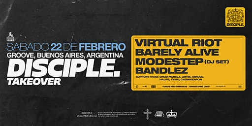 HYPE presents VIRTUAL RIOT, MODESTEP, BARELY ALIVE, BANDLEZ y mas