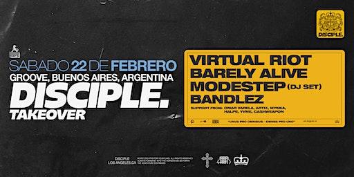 HYPE presents VIRTUAL RIOT, MODESTEP, BARELY ALIVE, BANDLEZ y mas
