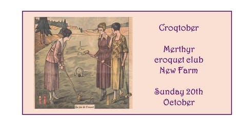 Croqtober - Croquet fundraiser for Frocktober tickets