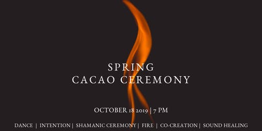 Spring Cacao Ceremony, Brisbane
