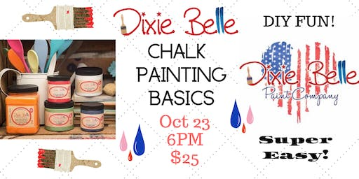 Dixie Belle Chalk Painting Basics