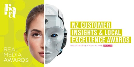 Real Media Awards - NZ Customer Insights and Local Excellence Awards tickets