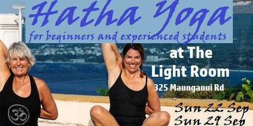 Hatha Yoga Class for beginners and experienced students - with Andrea Hudson - Sun22Sep