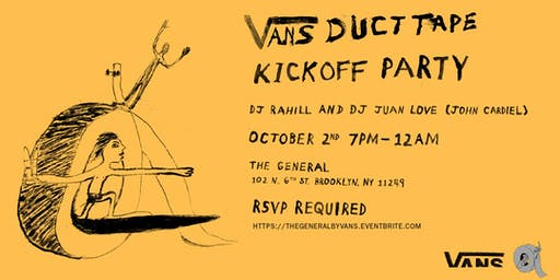 Vans Duct Tape Kickoff Party