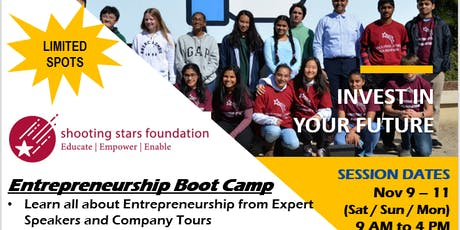 Milpitas Entrepreneurship and Business Camp tickets
