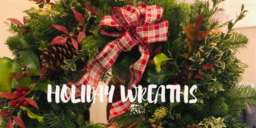 SOLD OUT Make it & Take it: Holiday Wreaths