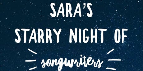 Sara's Starry Night of Songwriters tickets