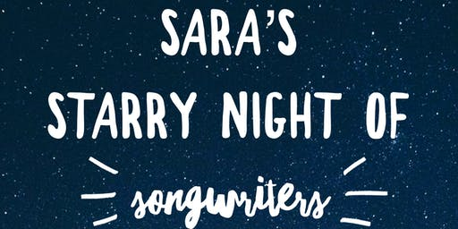 Sara's Starry Night of Songwriters