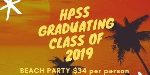 HPSS Graduation Beach Party