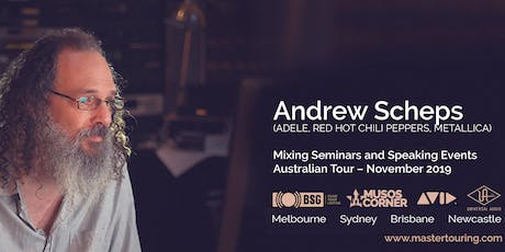 Andrew Scheps - Speaking Event (Free) tickets
