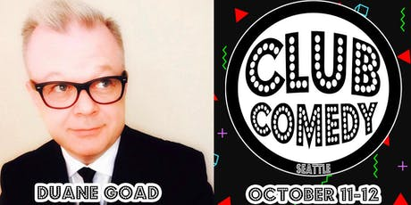 Duane Goad Friday 8:00PM 10/11 tickets