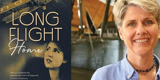 Long flight home by Lainie Anderson - author talk/book launch (Vickers Vimy