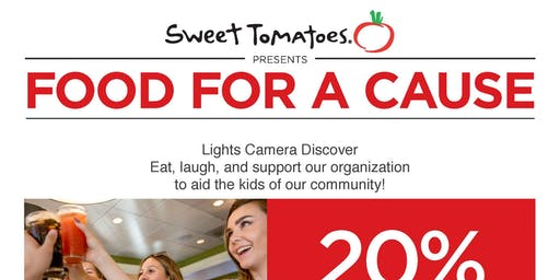 Sweet Tomatoes Presents Food for a cause with LCD