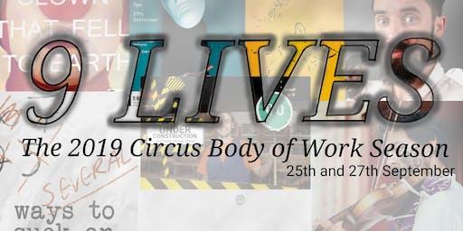 9 Lives - The Whitireia Circus Dance Body of Work Season 2019