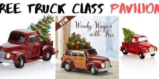 Tree Truck, Woody, or lantern class PAVILION