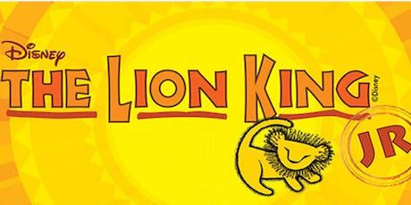 LION KING Jr   Matinee   (12pm) tickets