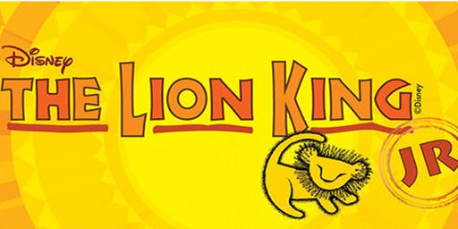 LION KING Jr   Matinee   (12pm)