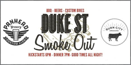 Duke Street Smoke Out.  American BBQ, Beers & Custom Bikes. tickets