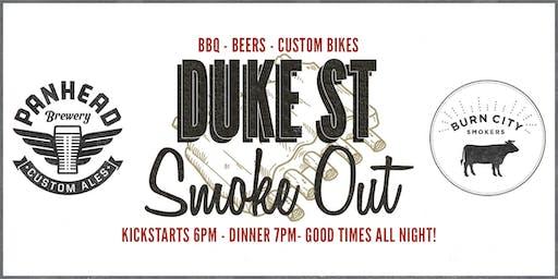Duke Street Smoke Out.  American BBQ, Beers & Custom Bikes.