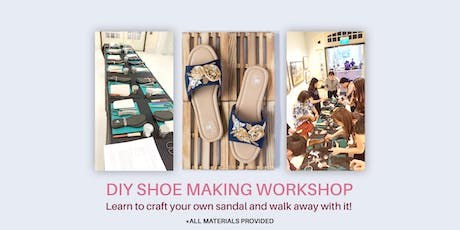 DIY Shoe Making Workshop tickets